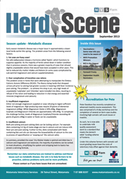 MVS Farm September Newsletter 2013